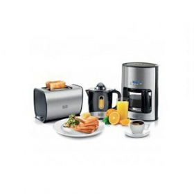 Black and Decker BFS100 220-240 volts 50 Hz Breakfast Set Juicer, Toaster and CoffeeMaker