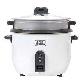 Black & Decker RC2850 220-240 Volt 50 Hz 1100w 11.8 Cup Rice Cooker