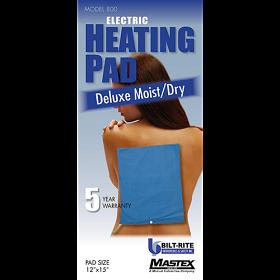 Bilt-Rite Mastex 800-220 Deluxe Moist/Dry Heat Pad- Blue