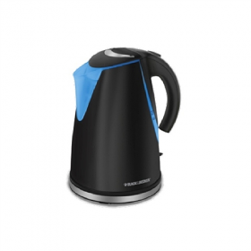 Black and Decker JKCBD4590 1.7 Liter 220-240 Volt 50 Hz Electric Kettle - Removable Filter - Water Level window - 220-240 Volt 50 Hz