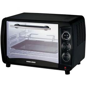 Black and Decker TRO55 220 Volt 240 Volt 50 Hz Toaster Oven