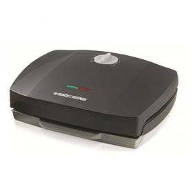 Black and Decker GM1750 220 240 Volt 50 Hz Grill - 1750 Watt Power - Large cooking Surface - 220-240 volt 50 Hz