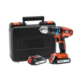 Black & Decker EGBL188KB 220volts 18V 2 Gear Hammer Drill - 220-240 Volt 50 Hz