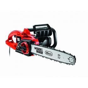 Black & decker BD-GK1935T 220volts Electric Chain Saw - 1800 Watt Power Safety Switch - 220-240 Volt 50 Hz