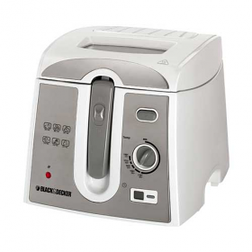 Black and Decker EF2750 220-240 volt 50 Hz Deep Fryer with Digital Timer