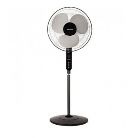 "Black and Decker FS1610 220 Volt Standing Fan - 16"" Fan Blade - 3 Speed Control - 220-240 Volt 50 Hz"