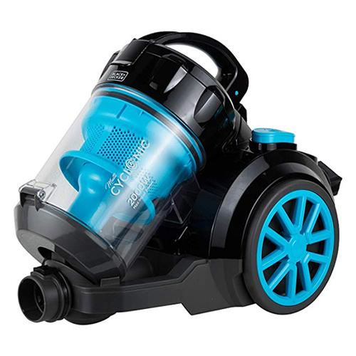 Black and Decker VM2080 2000 Watt Cyclonic Canister Vacuum Cleaner - 220 Volt 50 Hz