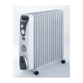 Black and Decker OR12FD 220-240 volt 50 Hz Oil Radiator with 12 FIN
