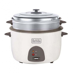 Black and Decker RC4500-B5 220-240 Volt 50 Hz 4.5 Liter Rice Cooker
