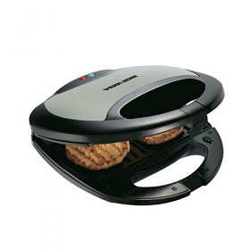 Black and Decker TS2000 220-240 Volt 50 Hz 2 Slice Sandwich Maker