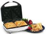 G600 Black and Decker 220-240 Volt Sandwich Xpress