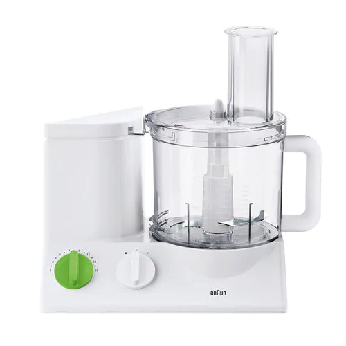 Braun FP3010 Tribute Collection Food Processor - 220 Volt 240 Volt 50 Hz - This unit does not work in North America!! - To Use Outside North America!