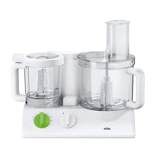 Braun FP3030 Tribute Collection Food Processor - 220 Volt 240 Volt 50 Hz - This unit does not work in North America!! - To Use Outside North America!