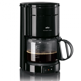 Braun KF47 220 Volt 240 Volt 50 Hz Coffee Maker - This unit does not work in North America!! - To Use Outside North America!