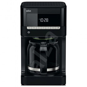 Braun KF7020 220-240 Volt 50 Hz 12 Cup 1000 watt and LCD Display with 24 hour timer Coffee Maker - This unit does not work in North America!! - To Use Outside North America!