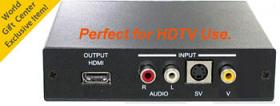 Com World CMD-HDX6 Professional Pal to NTSC Video Converter
