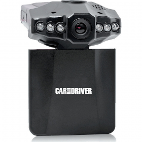 Car and Driver CDC-600 Swivel Screen 1080P Car Dash Cam
