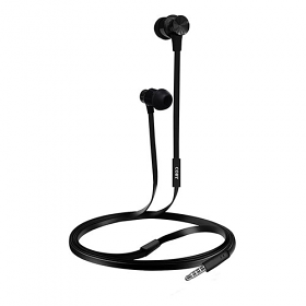 Coby CVE-127 Aluminum Tangle Free Stereo Earbuds with Mic