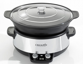 Crock-Pot CSC011X 220-240 Volt 50 Hz Slow Cooker with 6 Liter Capacity