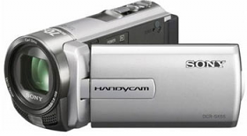Sony DCR-SX65E-S PAL Compact Camcorder With 60X Optical Zoom Silver