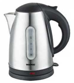 Daewoo DEK1238  220-240 Volt 50 Hz 1.7 Liter Stainless Steel Electric Kettle