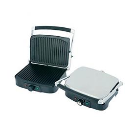 Daewoo DI9471 220 240 Volt 50 Hz Folding Grill / Panini Maker