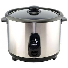 Daewoo DRC444 220 240 Volt 50 Hz 10cup Silver Rice Cooker
