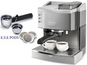 DeLonghi DEEC750 220-240 Volt 50 Hz Espresso Coffee Maker