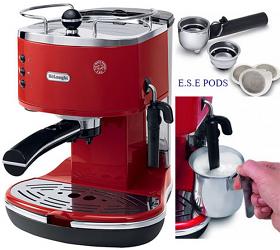 DeLonghi DEECO310-R 220-240 Volt 50 Hz Espresso Coffee Maker
