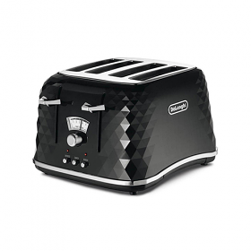 Delonghi Brilliante 220-240 Volt 50 Hz Black Toaster