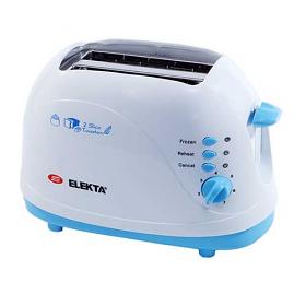 Elekta ET-252 220-240 Volt 2 Slice Toaster with Cool Touch