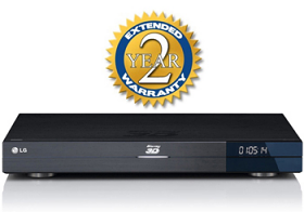 Extended Warranty Coverage for Blu Ray DVD Player