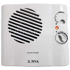 JL Nova FH-103A 2000 Watt Fan Heater - 220-240 Volt 50/60 Hz - To Use Outside North America.