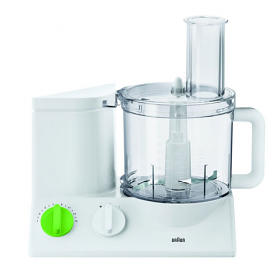 Braun FP3010WH 220-240 Volt Food Processor - Tribute Collection Food