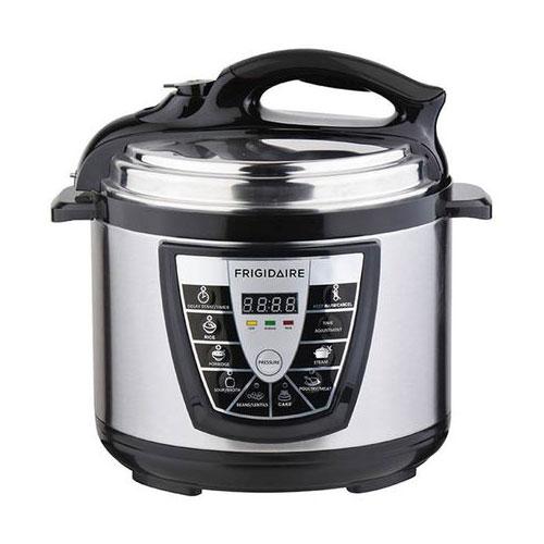 Frigidaire FDPC-1006 Stainless Steel 6 Liter Pressure Cooker - 220 Volt 240 Volt 50 Hz
