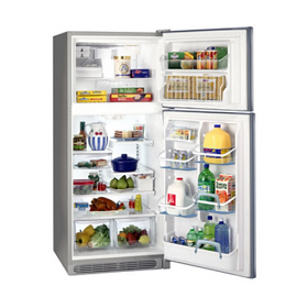 Frigidaire GLTP23V9MS/GLTP20V9GS 220 Volt 240 volt 20.5 Cu Ft Stainless Steel Top Mount Refrigerator