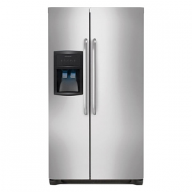 Frigidaire GPSE25V9GS 220 Volt 240 Volt 50 Hz 22.6 Cu Ft Stainless Steel Side By Side Refrigerator