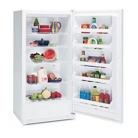 Frigidaire MRAD17V8GW 220 Volt 240 Volt 16.7 Cu Ft White Full Refrigerator No Freezer