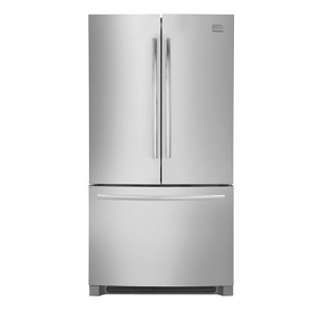 Frigidaire MSBG30V4LW 27.8 Cu Ft 220 Volt 240 Volt White French Door Refrigerator