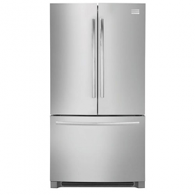 Frigidaire MSBH30V7LS 220 Volt 240 Volt 50 Hz 27.8 Cu Ft Stainless Steel French Door Refrigerator