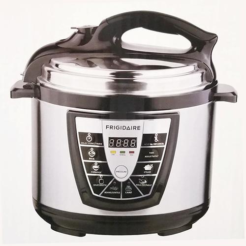 Frigidaire Stainless Steel 6 Liter Pressure Cooker - 220-240 Volt 50 Hz