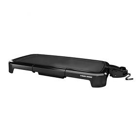 Black & Decker GD2011 Non Stick Electric Griddle  - 220 Volt 240 Volt 50 Hz - Black Ciolor - Large Non Stock Cooking Surface -