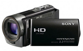 Sony HDR-CX130EB Full HD PAL Camcorder with 30X Optical Zoom Black