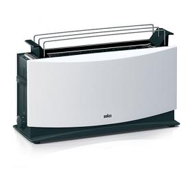 Braun HT550 220-240 Volt 50 Hz Toaster - Timelss Design, Easy Handling and Versatile features