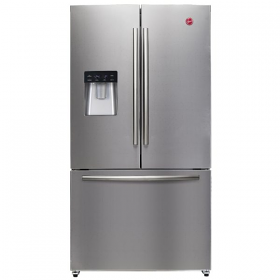 Hoover HFD536L-S French Door Refrigerator - 220 Volt 50 Hz - To Use Outside North America.