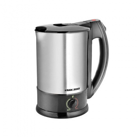 Black and Decker JKC001BD 220-240 Volt 50 Hz Stainless Steel Kettle