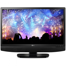 "LG 24MT48 24"" 110-240 Volt 50/60 Hz Multi System LED TV"