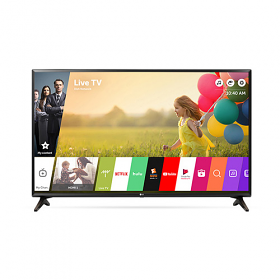 "LG 43LJ550 43"" Multi System Full HD SMART LED TV - 110-240 Volt 50/60 Hz - TO Use World Wide"