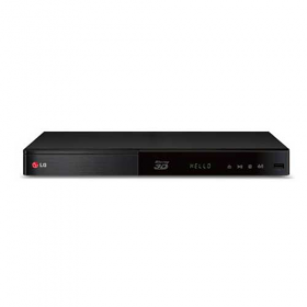 LG BP540 Region Free 3D Blu Ray Player with Built in Wifi and 100-240 Volt 50/60 Hz