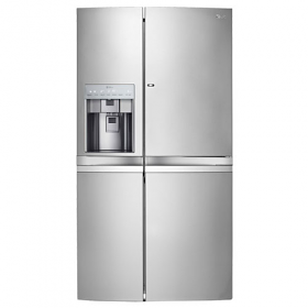 LG GR-J317WSBN 31 Cu. Ft. Side By Side Door Refrigerator